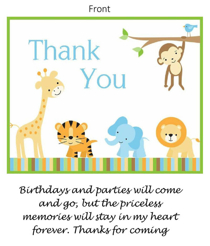 Thank You Card Template 13