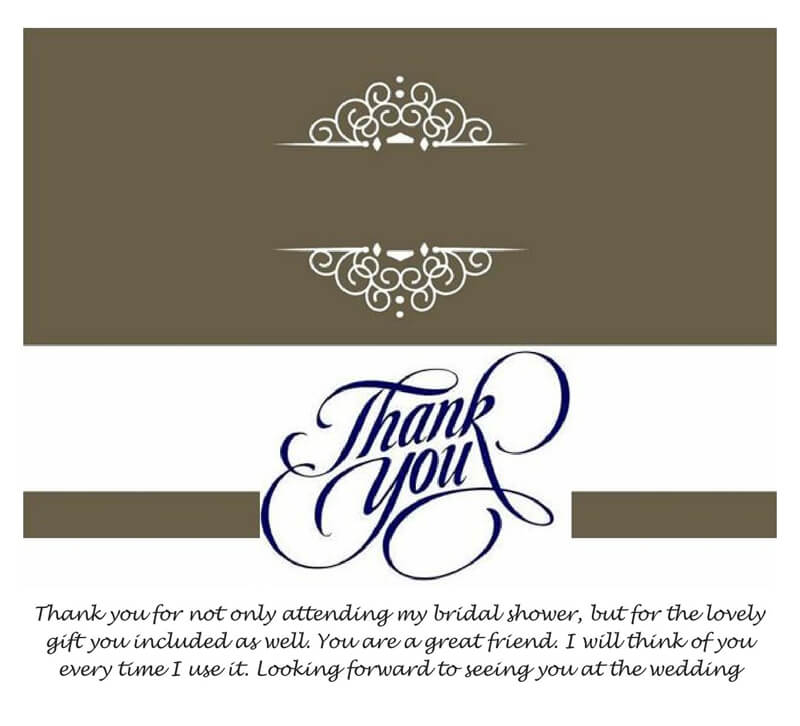 Thank You Card Template 15