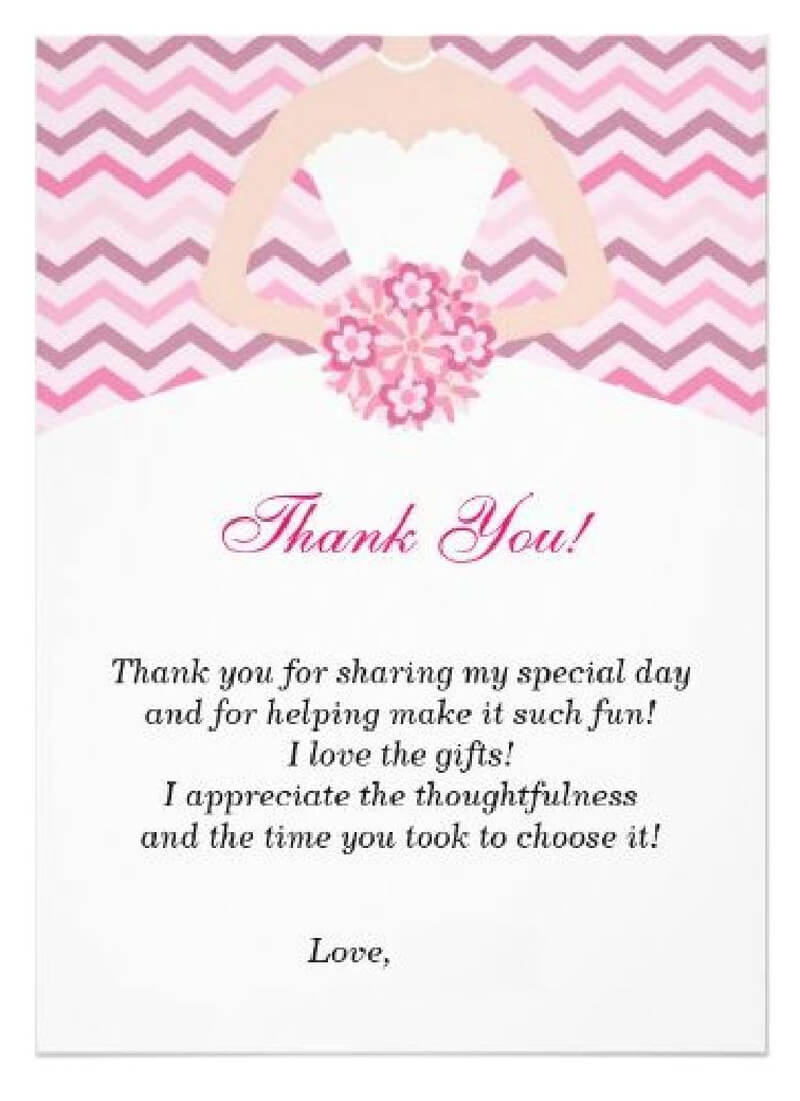 Thank You Card Template 16