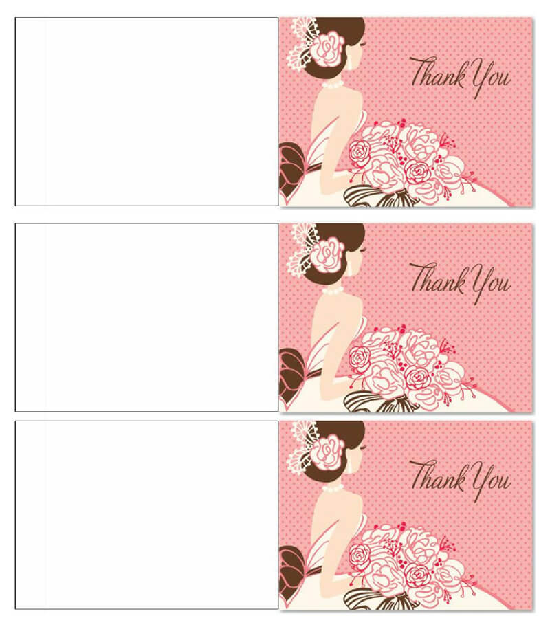 Thank You Card Template 17
