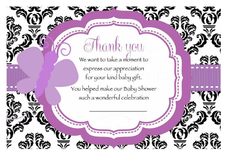 Thank You Card Template 19