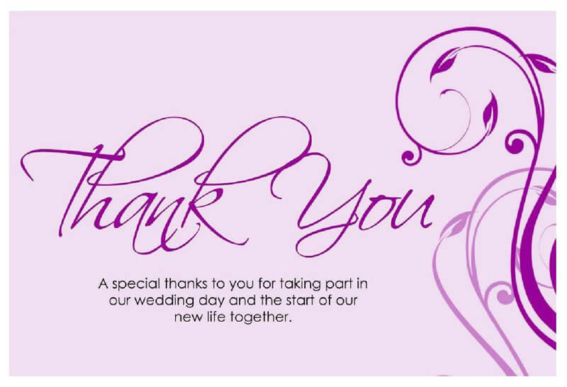 Thank You Card Template 20