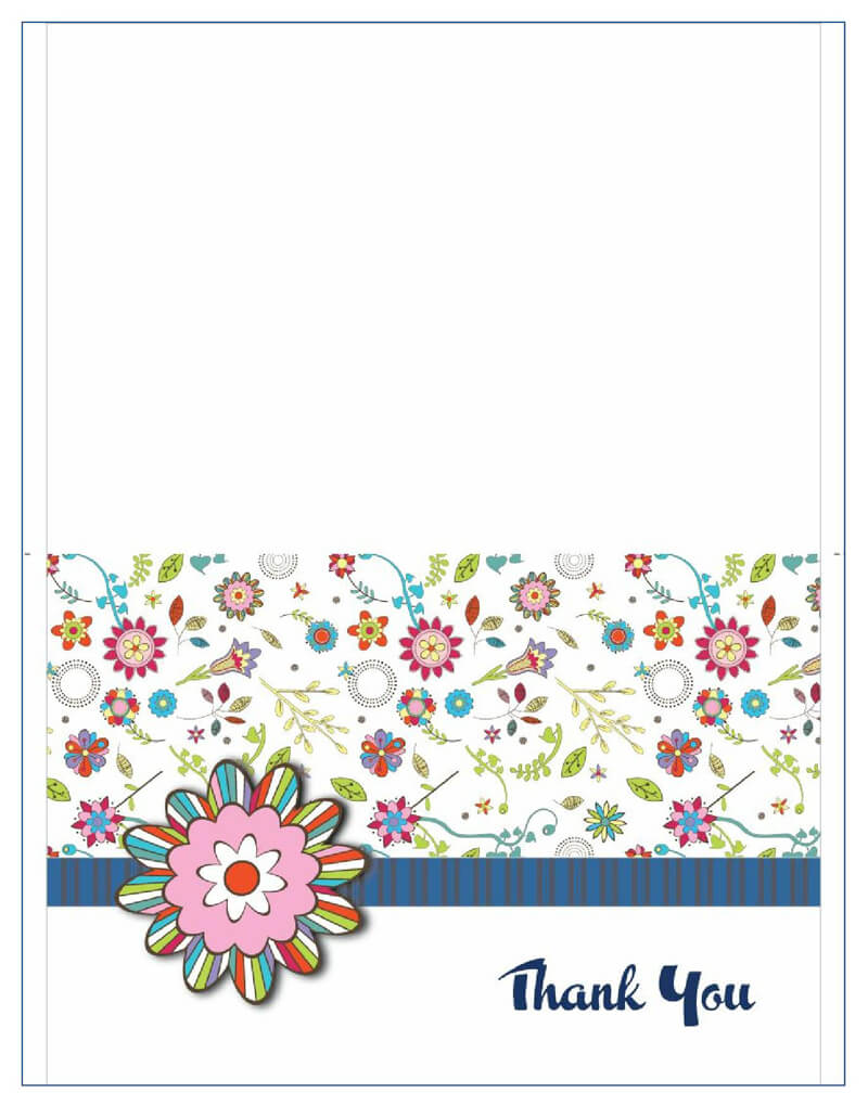 Thank You Card Template 26