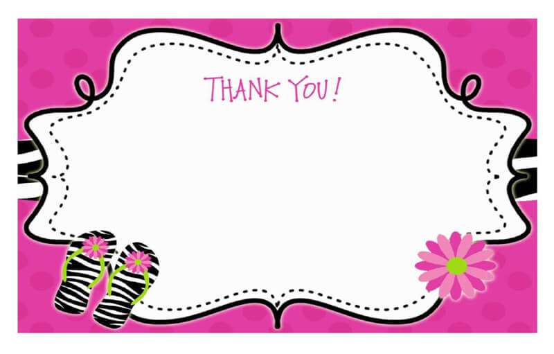 Thank You Card Template 28