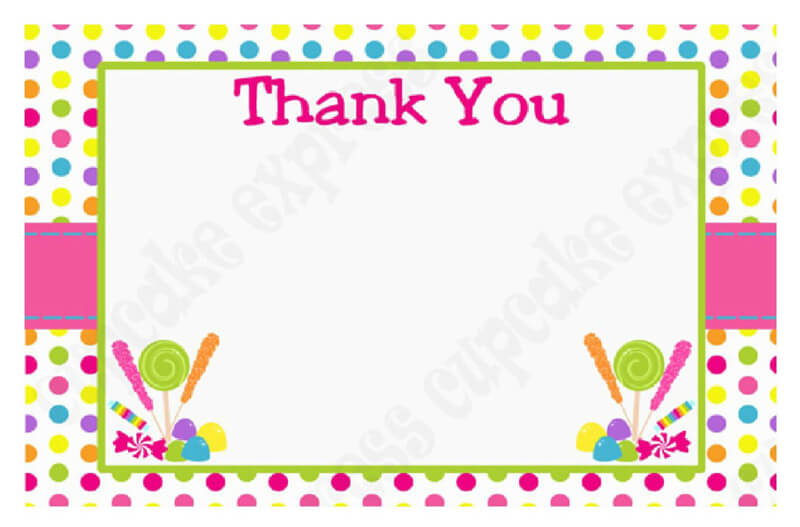 Thank You Card Template 31
