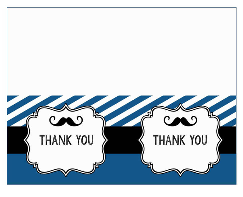 Thank You Card Template 32