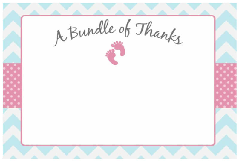 Thank You Card Template 33