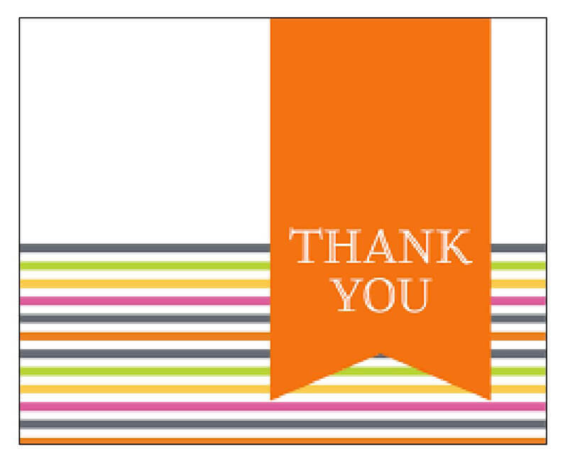 Thank You Card Template 34