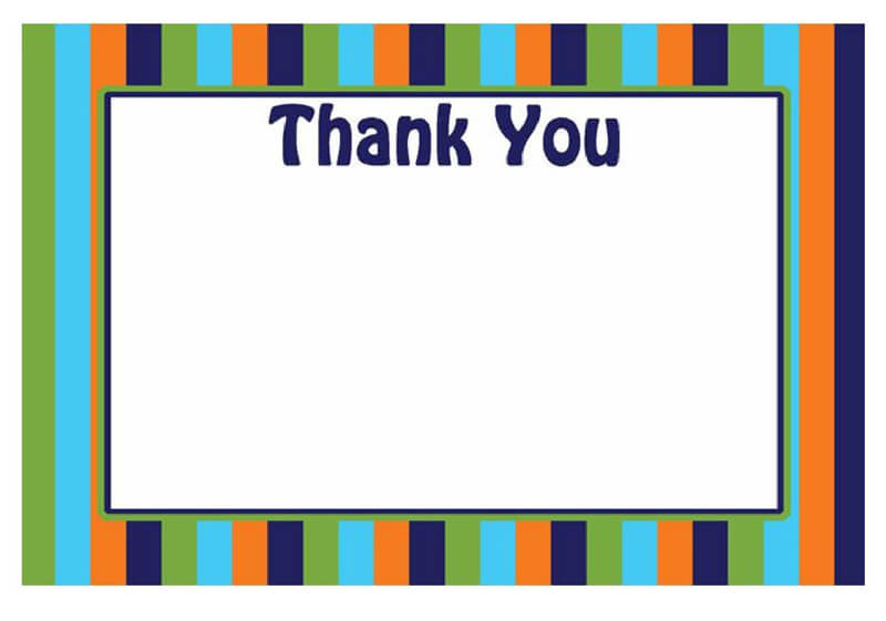 Thank You Card Template 35