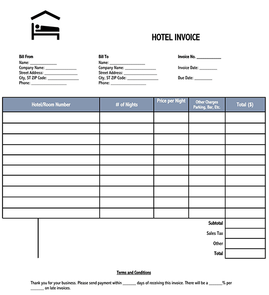 invoice template word 01