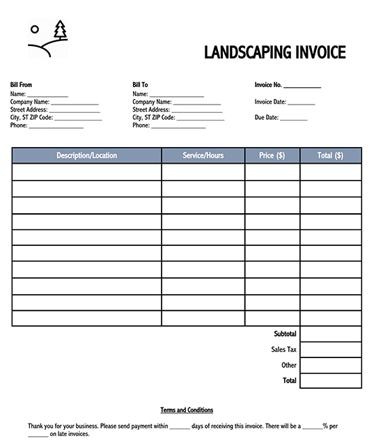 invoice voucher template 02
