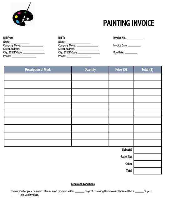 free printable invoice templates 02