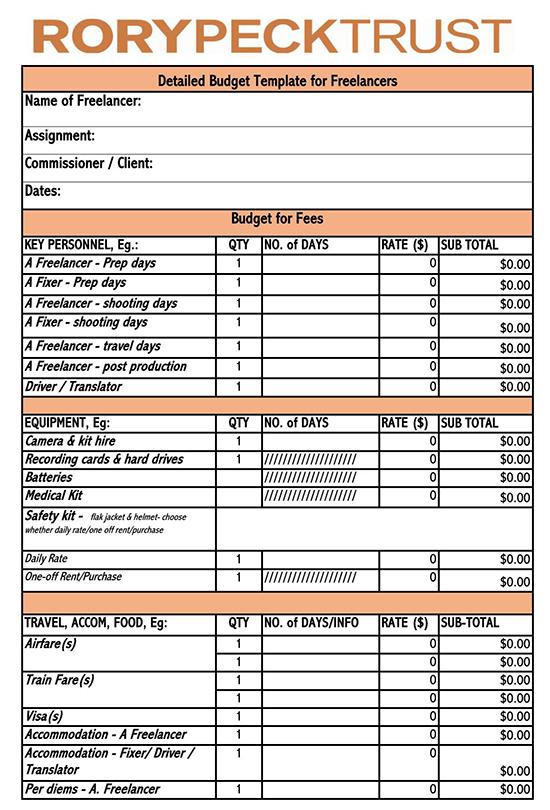 tv pilot budget template 01