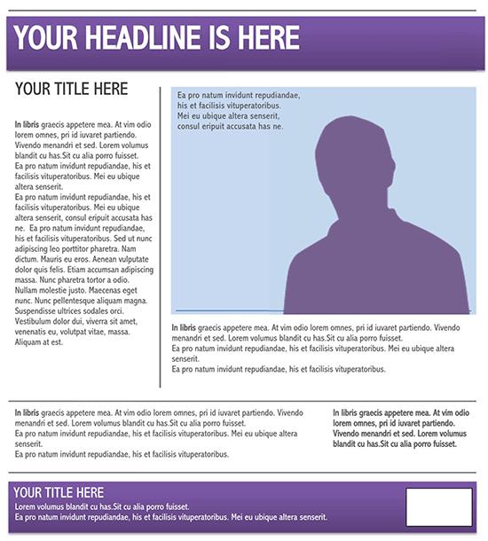 newspaper template doc