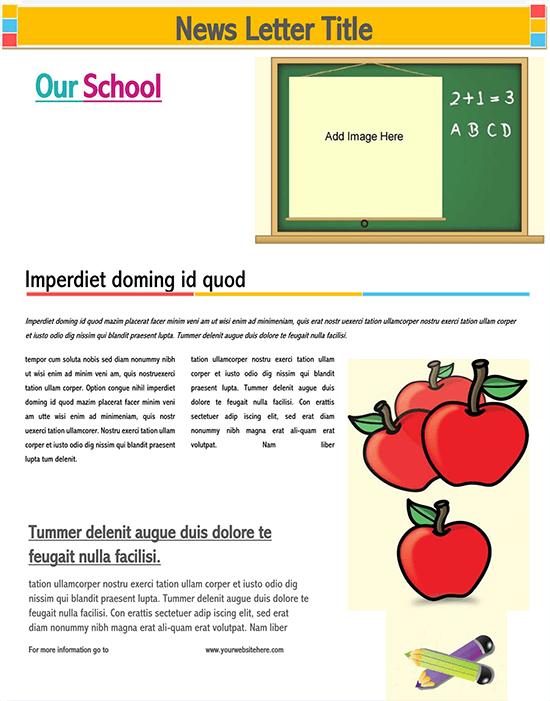 best school newsletters