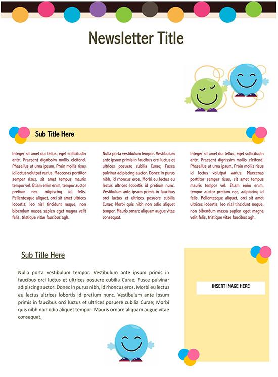 school newsletter ideas