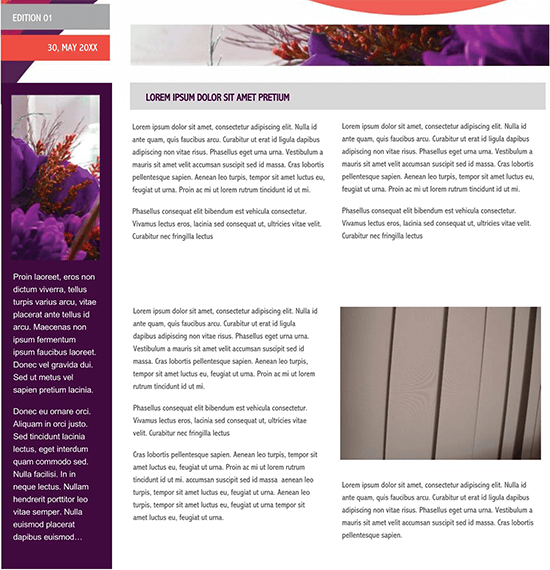 school newsletter templates publisher 01