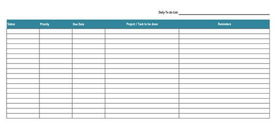 cute checklist template 01