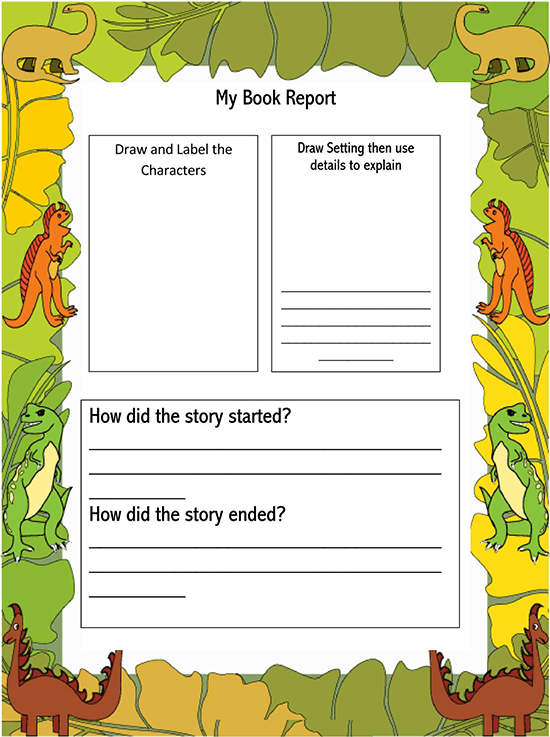 book report template google docs 02