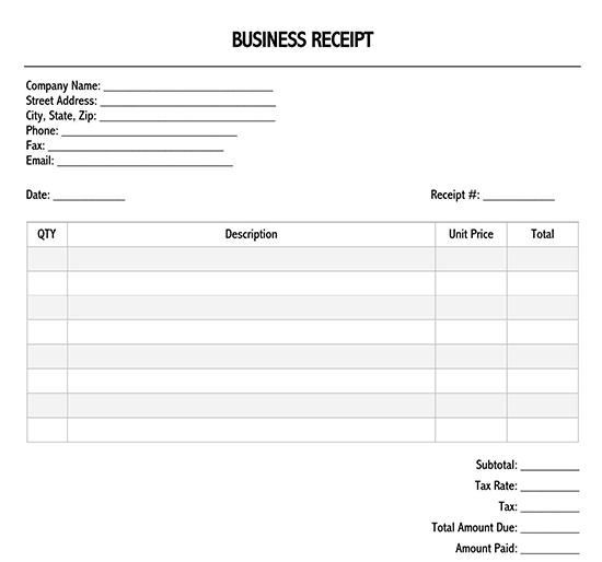 rent receipt template doc 02