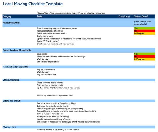 Checklist-Address-Change