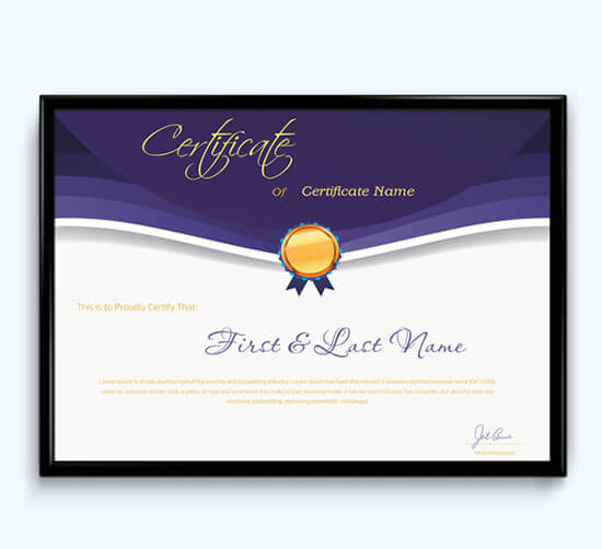 award certificate template word 01