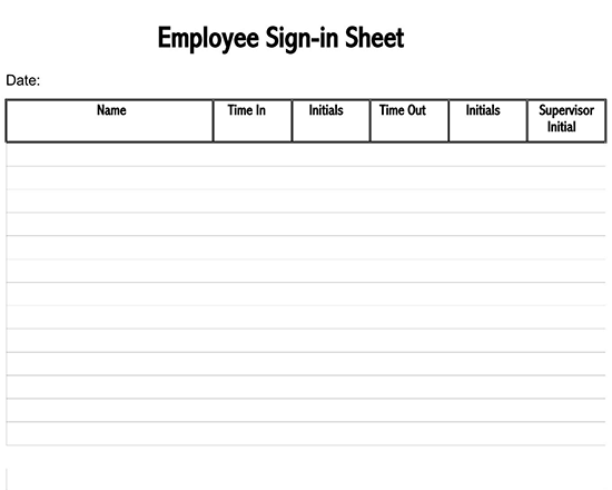 contractor sign in sheet template excel 03