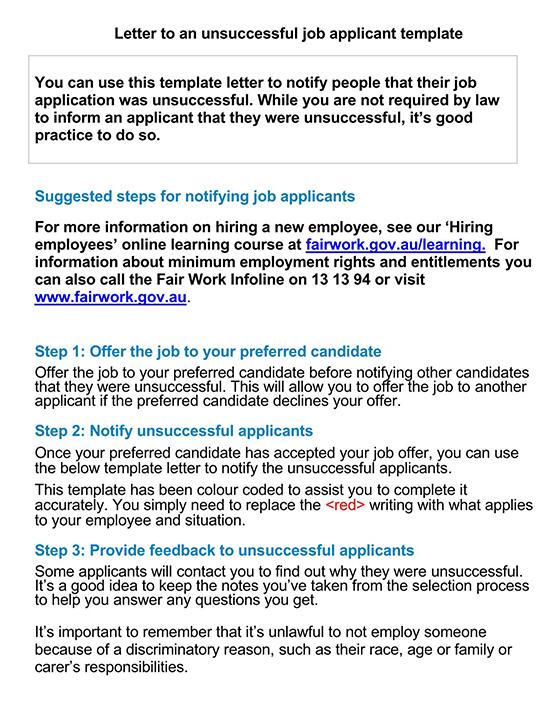 Employment Application Template 03
