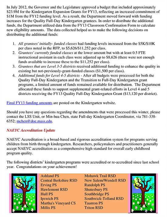 april preschool newsletter template
