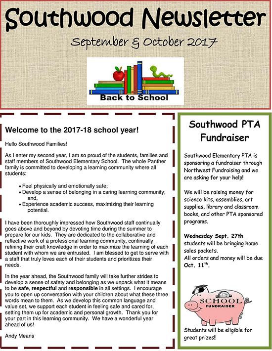 preschool weekly newsletter