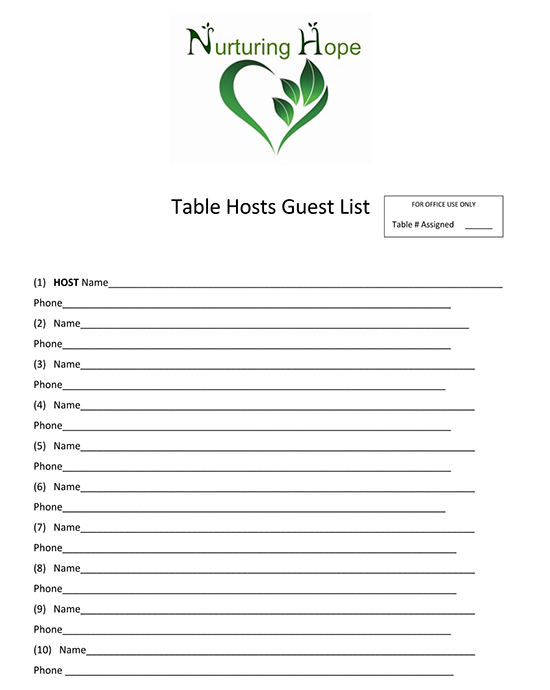 baby shower guest list template 01