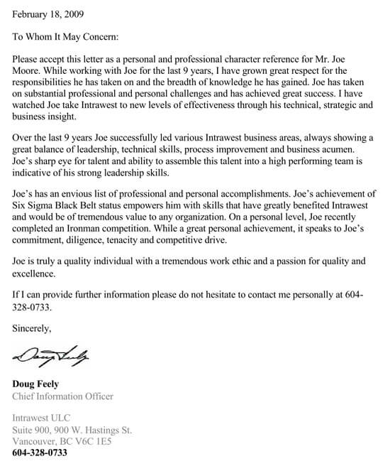 Recommendation-Letter-From-Management