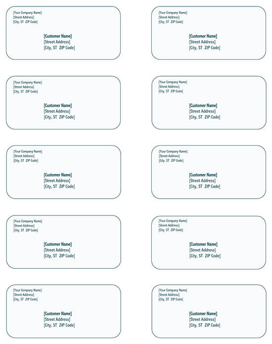 Shipping label template download 01