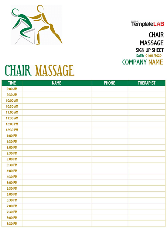 employee sign in sheet template word free