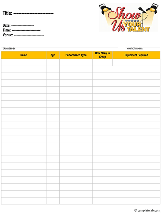 contractor sign in sheet template excel 02
