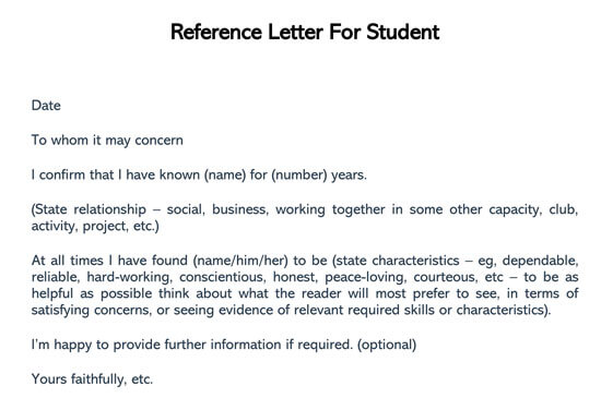 Student-Reference-Letter