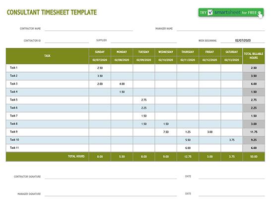 weekly timesheet template excel 01