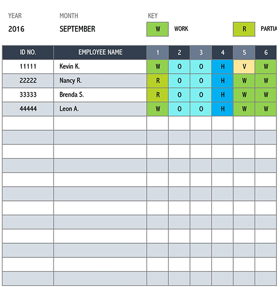 daily schedule template 02
