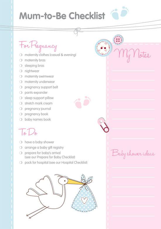 Baby-Checklist-Sample