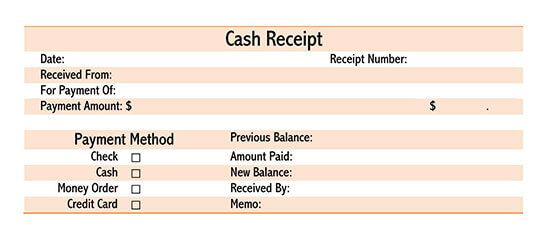 simple receipt template 03