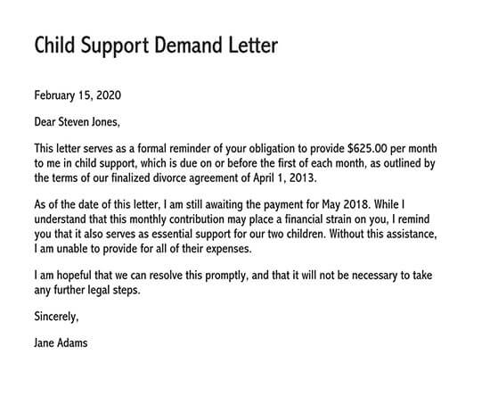 sample letter of intent to sue with settlement demand