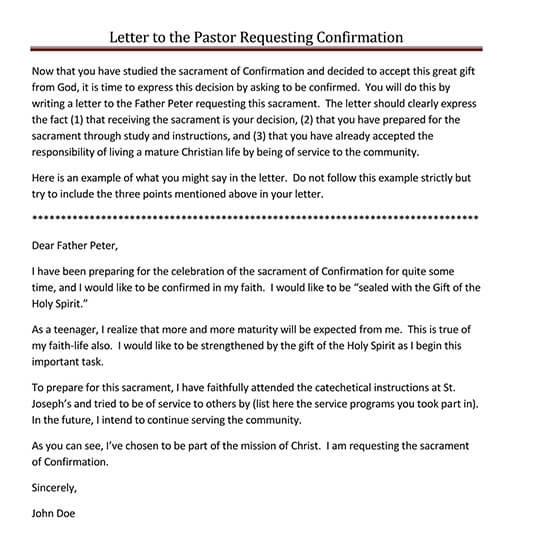 confirmation letter after probation