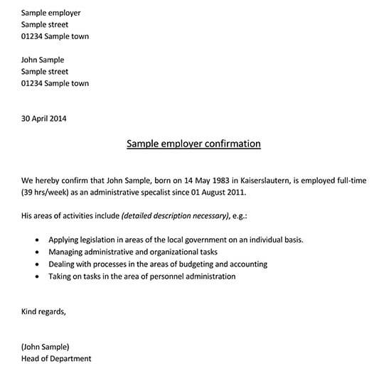 company confirmation letter 01