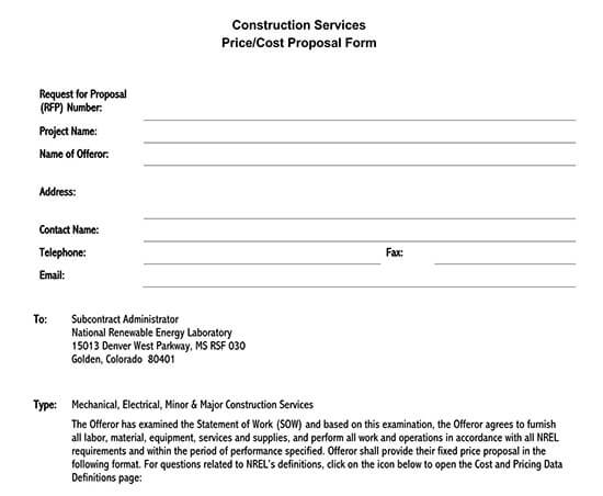 simple construction proposal template 01