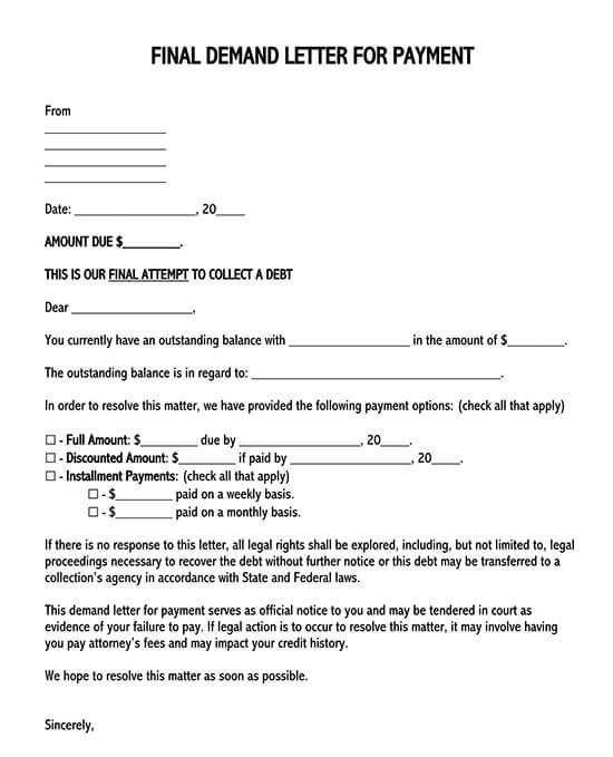 demand letter sample pdf 01