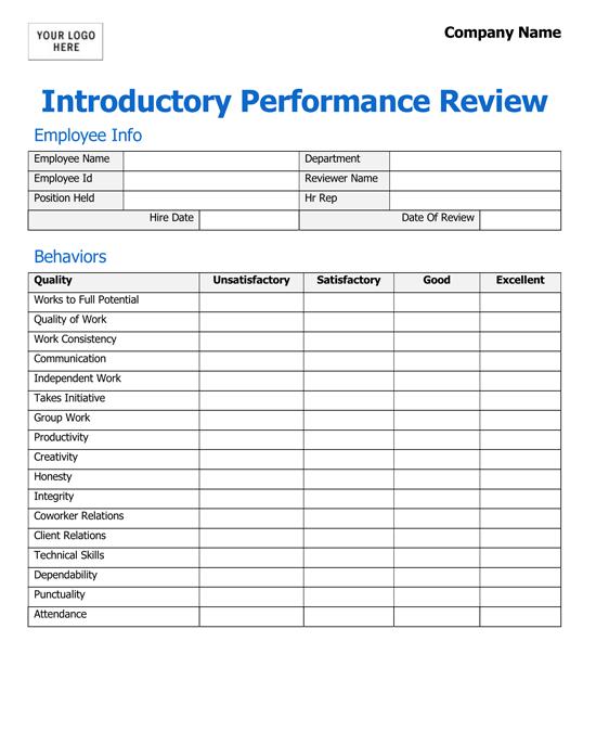 Free-Employee-Evaluation-Form