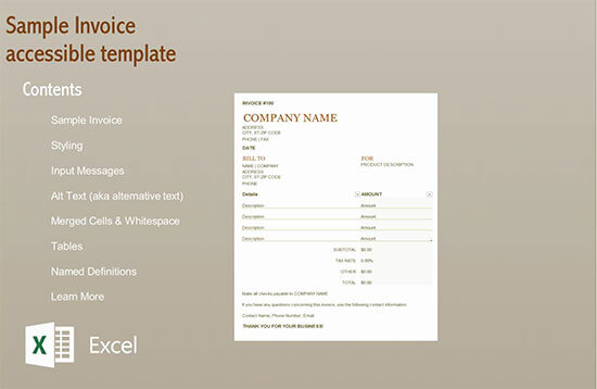 blank invoice template excel 02