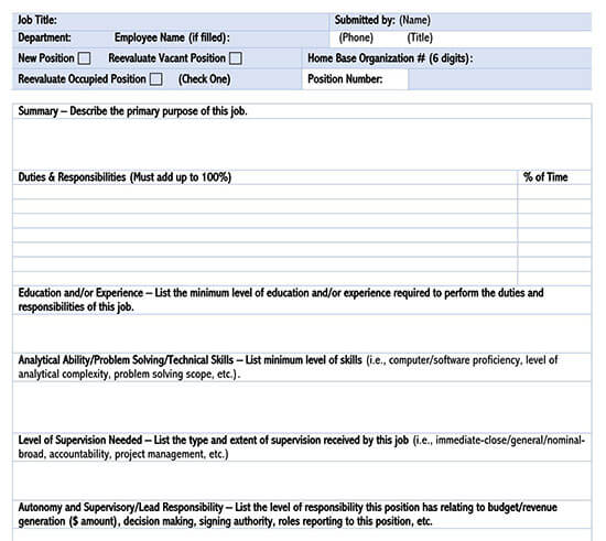 free employee evaluation form template word 03