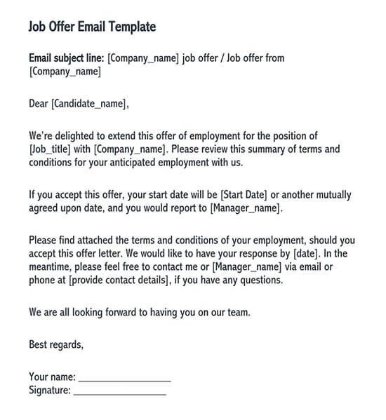 fake job offer letter pdf