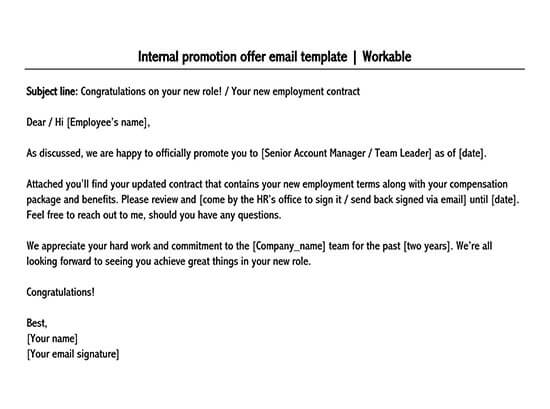 simple job offer letter format in word 01